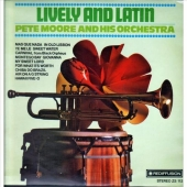 Pete Moore and his Orchestra - Lively and Latin LP Neu