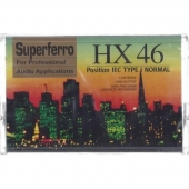 MC Leercassette HX 46 Superferro (2x23 Min.)