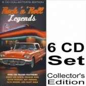6 CD Collectors Edition - Rock n Roll Legends 108 Titel