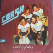 Crash - Lonely Guitar / Harry Lime Theme 1977 SP