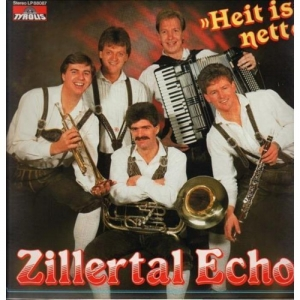 Zillertal Echo - Heit is nett LP 1987 Neu
