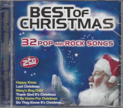 white christmas all stars best of christmas 32 pop and rock songs 2cd - Best Christmas Rock Songs