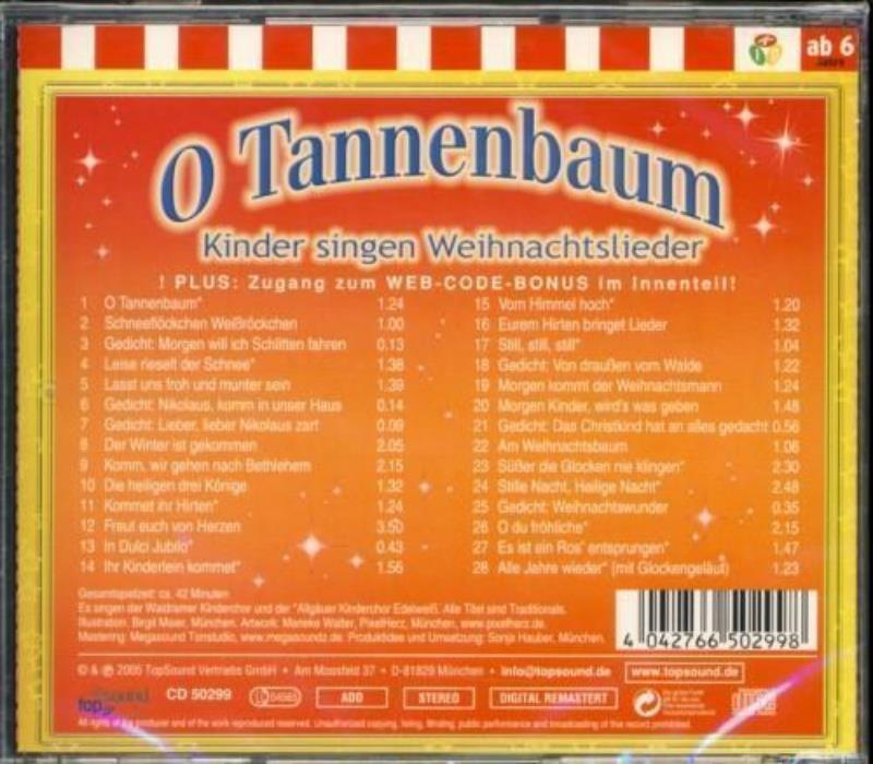 O Tannenbaum - Kinder singen Weihnachtslieder - IVEDIA.com, 2,99 €