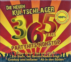 Die Neuen Kultschlager 365 Tage Party Hits Nonstop (3CD)