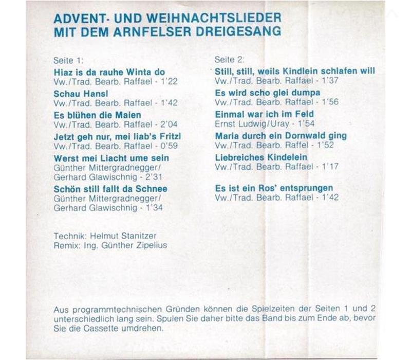 Arnfelser Dreigesang - Advent- und Weihnachtslieder