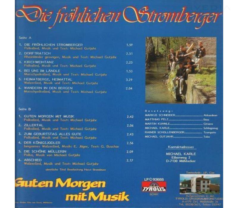 Die Fröhlichen Stromberger Guten Morgen Mit Musik 1988 Lp Neu